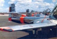 T-37C 0885 Linha de vôo